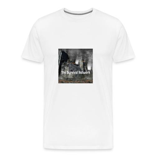 The Survival Network's official logo design. - Men's Premium T-Shirt