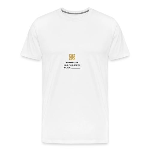 Kindom Insert T-Shirt - Men's Premium T-Shirt