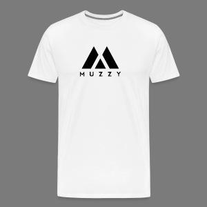 MUZZY Offical Logo Black - Men's Premium T-Shirt