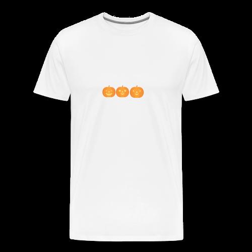 3 carved pumpkins - Men's Premium T-Shirt