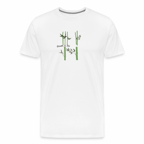 Growth Is Zen - Men's Premium T-Shirt
