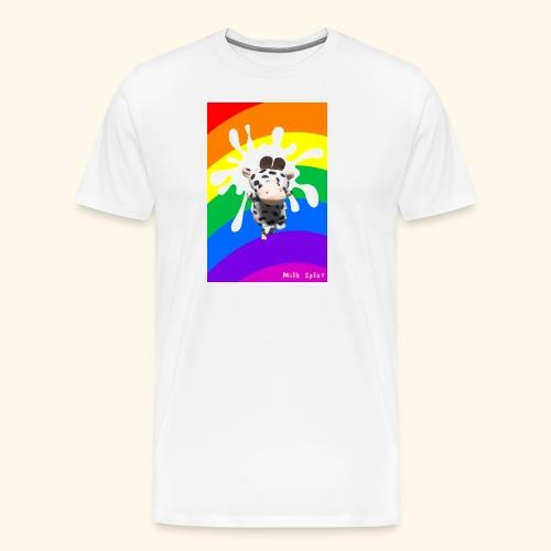MilkSplay Original - Men's Premium T-Shirt