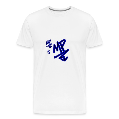 mp signature logo by Editing Madness - Men's Premium T-Shirt