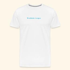 Worldwide Escapes - Men's Premium T-Shirt