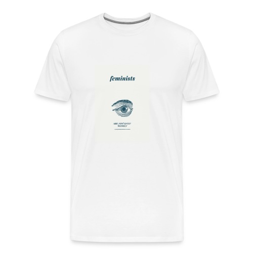 Feminist are not only women(2) - Men's Premium T-Shirt