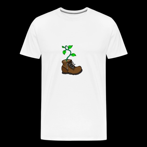 Plant In Boot - Men's Premium T-Shirt
