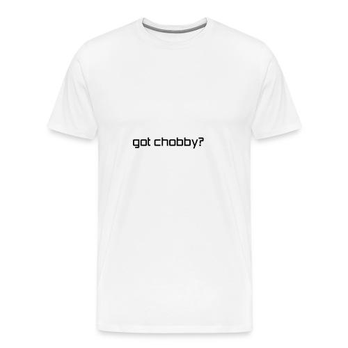 got chobby? - Men's Premium T-Shirt