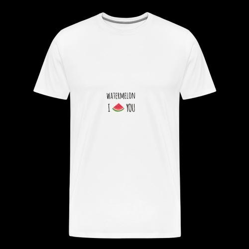 watermelon - Men's Premium T-Shirt