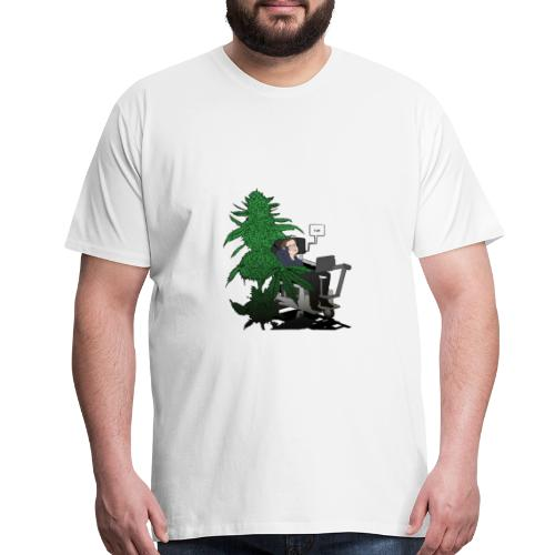 YUH - Smart? - Men's Premium T-Shirt