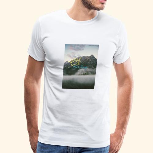 Garielys's Fancy Vlogs Her King - Men's Premium T-Shirt