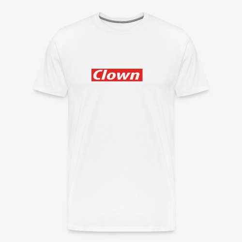 Clown box logo - Men's Premium T-Shirt