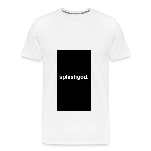 Splashgod. Merch - Men's Premium T-Shirt