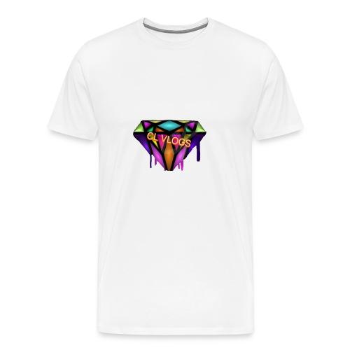 CL VLOGS - Men's Premium T-Shirt