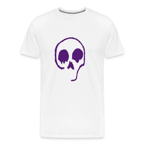Sketchy Skull - Men's Premium T-Shirt