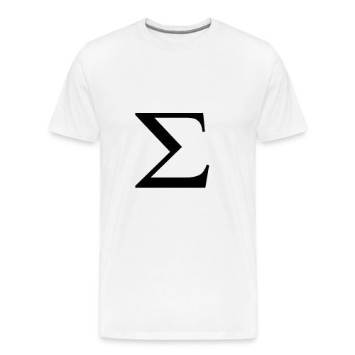 Greek Letter - Men's Premium T-Shirt