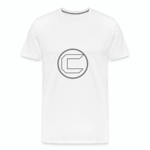 White Cyphon Clan Logo - Men's Premium T-Shirt