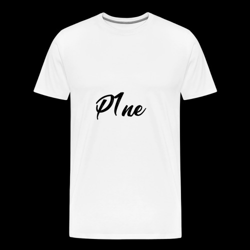 P1neMusic Black - Men's Premium T-Shirt