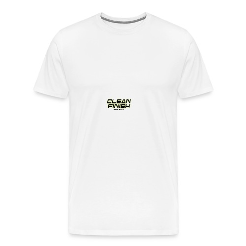 Clean Finish Est 2017 - Men's Premium T-Shirt