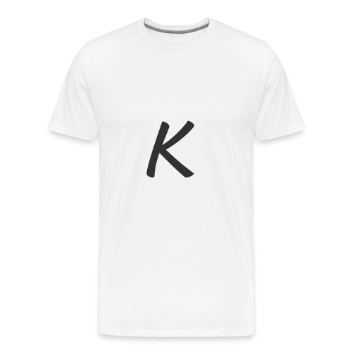 krop k gray - Men's Premium T-Shirt
