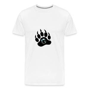 Geodine's Zombie Paw logo - Men's Premium T-Shirt