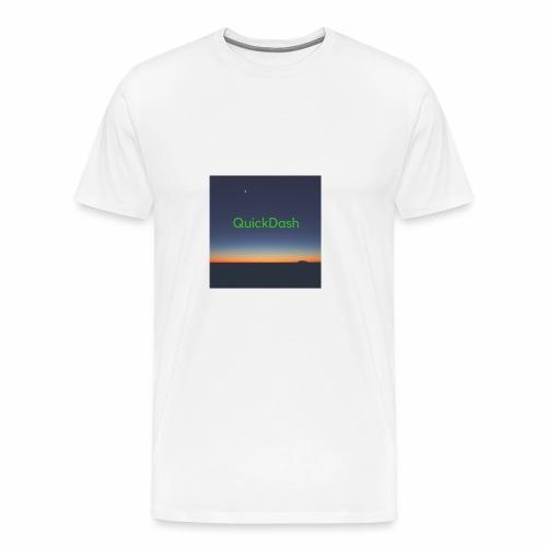 QuickDash Merch - Men's Premium T-Shirt