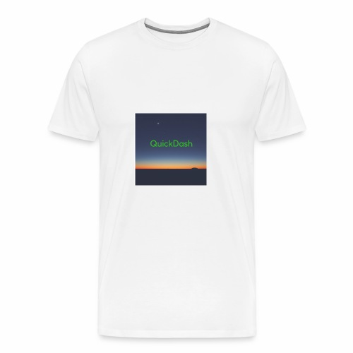 QuickDash Merch - Men's Premium T-Shirt