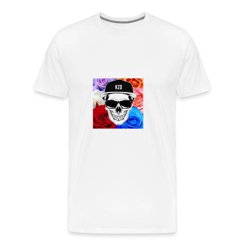 kzdSKullandrose - Men's Premium T-Shirt