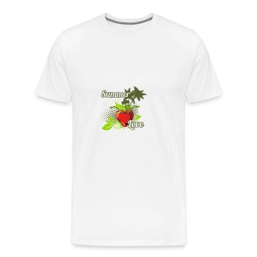 summer love - Men's Premium T-Shirt