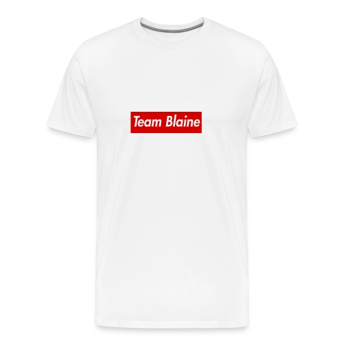 Team Blaine Box Logo - Men's Premium T-Shirt