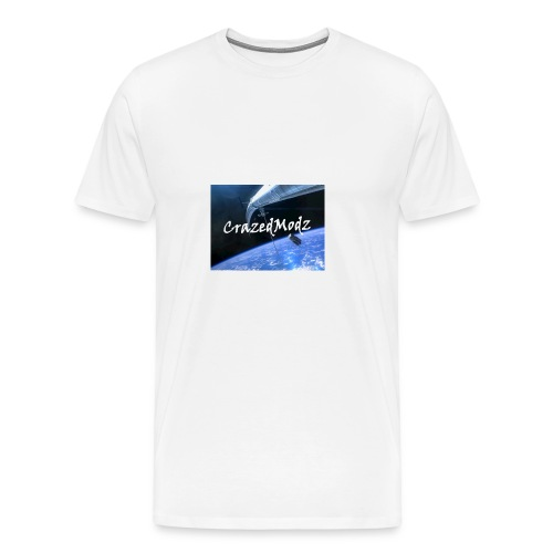 CrazedModz Space design! - Men's Premium T-Shirt