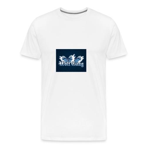 wolfgang logo - Men's Premium T-Shirt