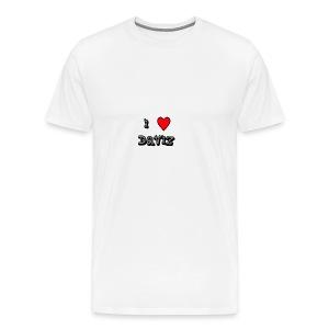I Love Daviz - Men's Premium T-Shirt