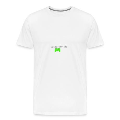 green gaming for life - Men's Premium T-Shirt