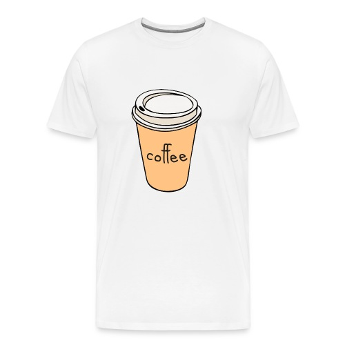 Coffee Cup - Men's Premium T-Shirt