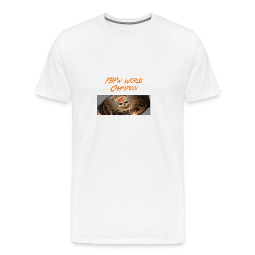 PBPW_World_Champion - Men's Premium T-Shirt