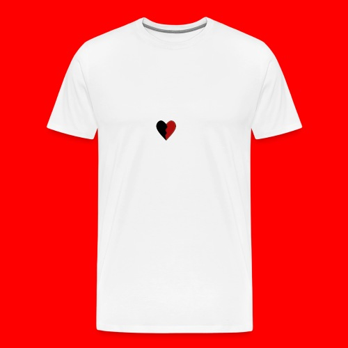 lil hearts (2lit clothing) - Men's Premium T-Shirt