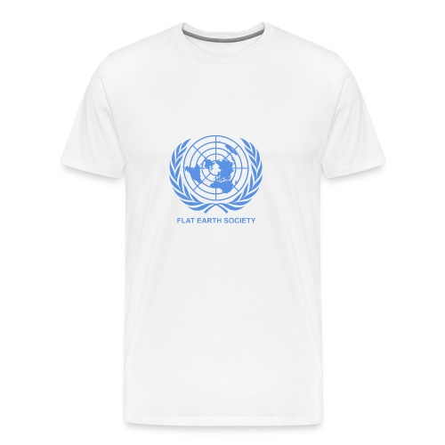 Flat Earth Society - Men's Premium T-Shirt
