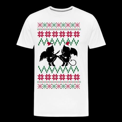 Gastric Girls Gab Ugly X-Mas Sweater - Men's Premium T-Shirt