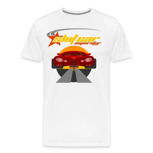 Slot Car Superstar T-Shirt 1 - Men's Premium T-Shirt