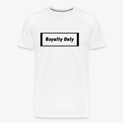 Royalty Only Original Merch - Men's Premium T-Shirt