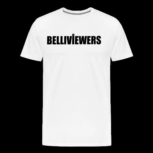 BELLIVIEWERS white - Men's Premium T-Shirt