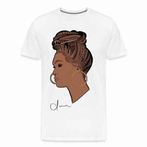 Poly Queen - Men's Premium T-Shirt