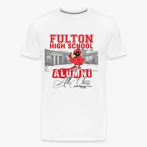 FHS All Class Alumni_WHITE Tee - Men's Premium T-Shirt