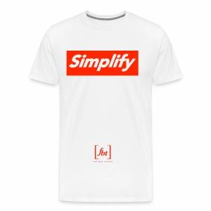 Simplify [fbt] - Men's Premium T-Shirt
