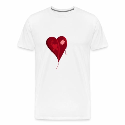 Destroyed Love - Men's Premium T-Shirt