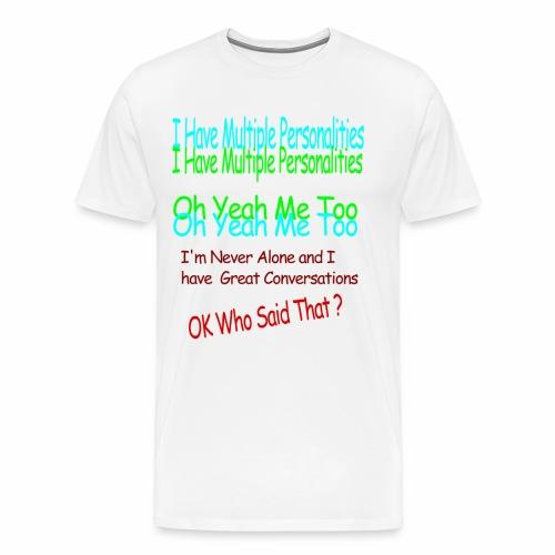 Multiple Personalities - Men's Premium T-Shirt