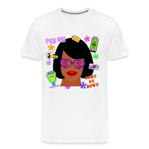 TV Game Show Contestant - TPIR (The Price Is...) - Men's Premium T-Shirt