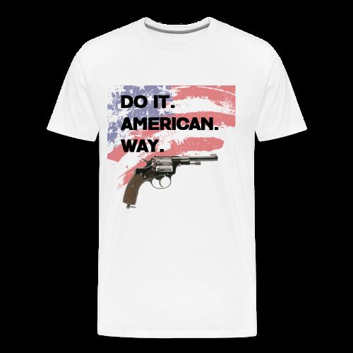 DO IT AMERICAN WAY - Men's Premium T-Shirt