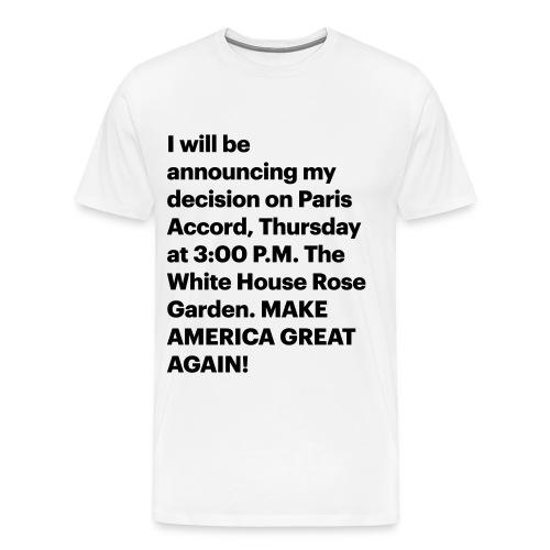 Jun. 1, 2017 - Men's Premium T-Shirt
