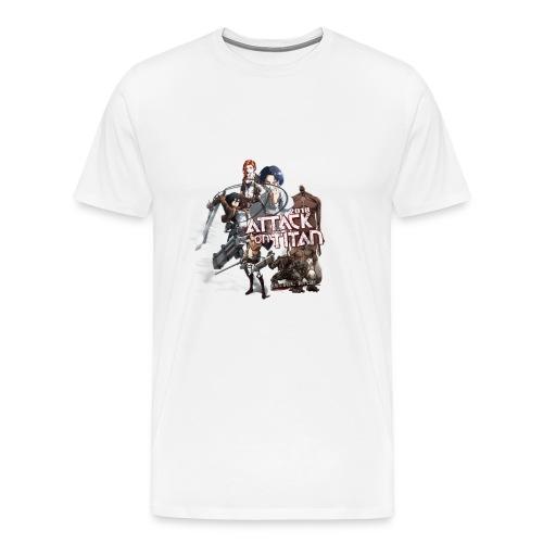 Attack on Titan 2017 new design - Men's Premium T-Shirt